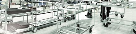 Manuální a přípojné vozíky